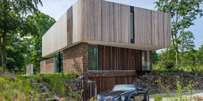 Cloud 9 Villa: moderne Huizen door 123DV Moderne Villa's