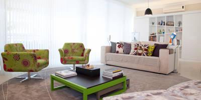 Higienópolis: Salas de estar modernas por Tikkanen arquitetura