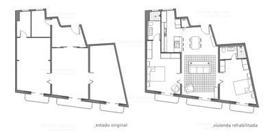 Restaurar vivienda en finca gótica:  de estilo  de Torres Estudio Arquitectura Interior