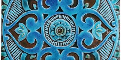 MANDALA #3:   by Gvega Ceramica
