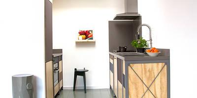industrial Kitchen by Studio Mieke Meijer