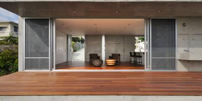 moderne Häuser von Ikuyo Nakama Architect Design Office
