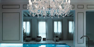 Chandelier for the outdoors and humid indoors - rated IP65:   by Italian Lights and Furniture Ltd