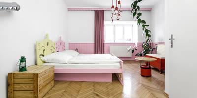 Zimmer Nr. 3: Pippi Langstrumpf:  Hotels von gabarage upcycling design