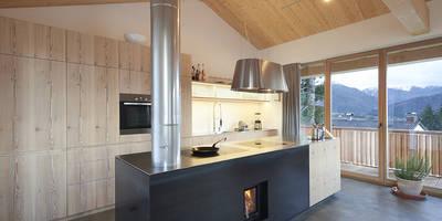 Küchenblock: moderne Küche von peter glöckner   architektur