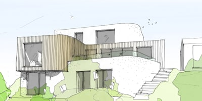 Concept Sketch:   by Facit Homes