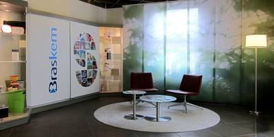 Foyer:  Bürogebäude von hansen innenarchitektur materialberatung