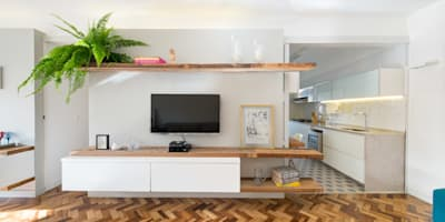Salas de estilo moderno por Semerene - Arquitetura Interior