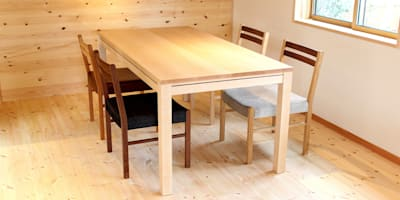 Dining table A-1: trusty wood worksが手掛けたです。