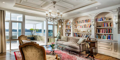 classic Living room by JodIe Cooper Design
