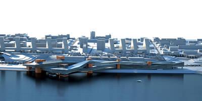 Casas de estilo minimalista por INT2architecture