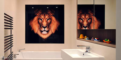 Kids Bathroom - Rotherwick Road: modern Bathroom by TG Studio