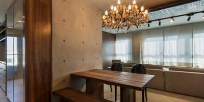 Comedores de estilo moderno por Studiodwg Arquitetura e Interiores Ltda.