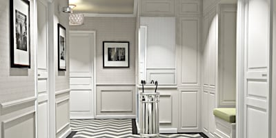 Квартира Шуваловский проспект.: Коридоры, прихожие, лестницы в . Автор – Ivory Studio