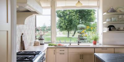 Cuisine de style de stile Rural par Hugh Jefferson Randolph Architects