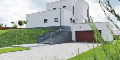 HOUSE WITH A PERSPECTIVE: styl nowoczesne, w kategorii Domy zaprojektowany przez SARNA ARCHITECTS   Interior Design Studio