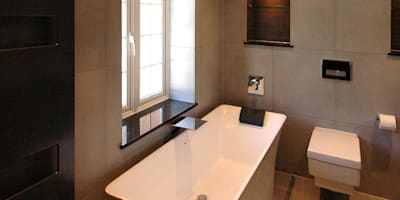 Contemporary Bathroom: modern Bathroom by David Carrier Bathrooms