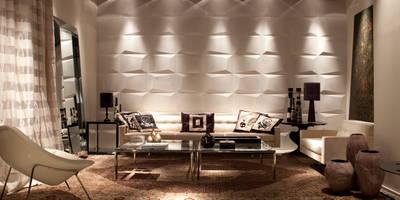 Projekty,  Salon zaprojektowane przez dsgnduo