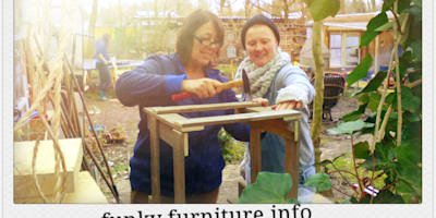 http://funkyfurniture.info/workshops/:   door Funky furniture