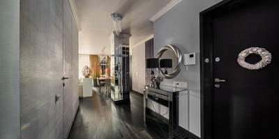 Projekty,  Korytarz, przedpokój i schody zaprojektowane przez Angelika Moroz interior design