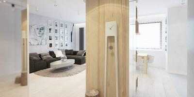 Couloir, Entrée & Escaliers de style de style Moderne par COI Pracownia Architektury Wnętrz