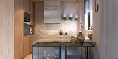 Cuisine de style de style Industriel par COI Pracownia Architektury Wnętrz