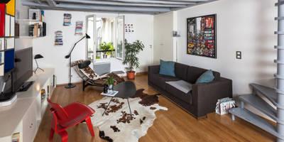 Rue Saint Denis: Salon de style de style eclectique par Agence sébastien Markoc