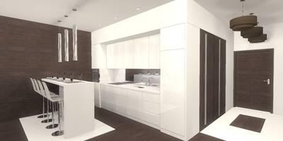 Kuchnia: styl , w kategorii Kuchnia zaprojektowany przez Marta Kożuch Interior Design