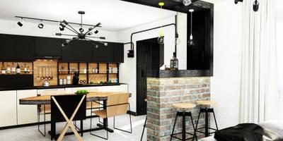 industriale Küche von AbcDesign
