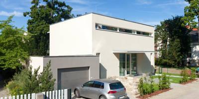 Case in stile in stile Moderno di Hildebrandt Architekten