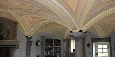 "Progetto render ​Soffitto ""Monaco"" - Work in progress:  in stile  di Artmande"