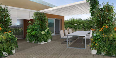 Terrazas de estilo  de Anna Paghera s.r.l. - Green Design