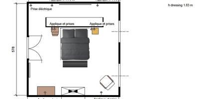 Une chambre de rêve:  de style  par Insides