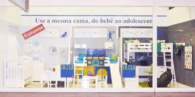 Vitrine Showroom Via Parque Shopping - RJ: Lojas e imóveis comerciais  por INTERCASA MÓVEIS INFANTIS E JUVENIS