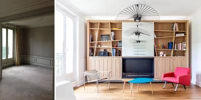 Salle de séjour:  de style  par Créateurs d'interieur