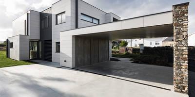 Vivienda en Mugardos: Casas de estilo moderno de AD+ arquitectura