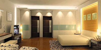 Interiors:   by S.R. Buildtech – The Gharexperts