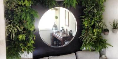 de style  par jardines verticales