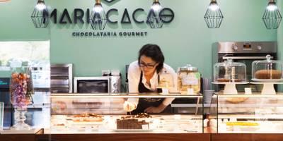 CHOCOLATE GOURMET: Lojas e espaços comerciais  por Spacemakers