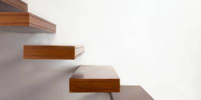 degraus: Corredores, halls e escadas minimalistas por Spacemakers