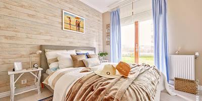 Apartament Błonia Hamptons: styl , w kategorii Sypialnia zaprojektowany przez DreamHouse.info.pl