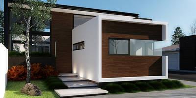 [Casa SD]: Casas de estilo moderno por Wowa