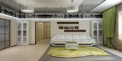 Дизайн студия 'Exmod' Павел Цунев: minimal tarz tarz Oturma Odası