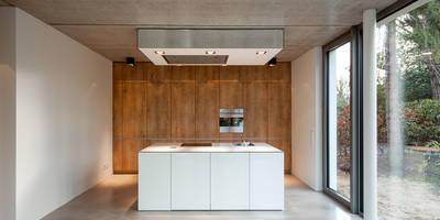 ห้องครัว by HGK Hamburger Grundstückskontor