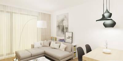 Livings de estilo moderno por 4ma projekt