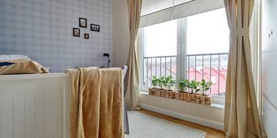 SKANDYNAWIA NASZYMI OCZAMI : styl , w kategorii Sypialnia zaprojektowany przez DreamHouse.info.pl