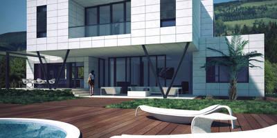 Casas de estilo minimalista por TOV.ARQ Estudio de Arquitectura y Urbanismo