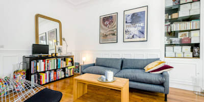 modern Living room by JULIEN FUENTES