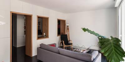 Salon de style de style Moderne par estudio551