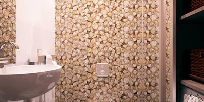 Авеню 77-4: Ванные комнаты в . Автор – ООО 'Студио-ТА'